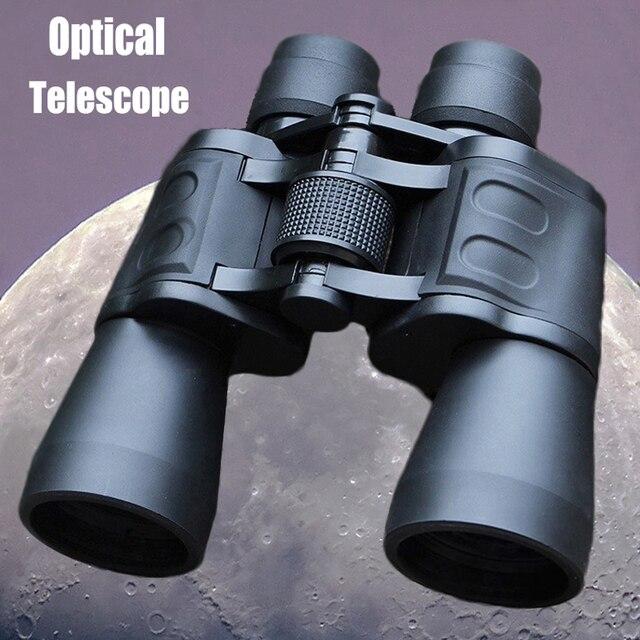 Powerful Military Binoculars 20X50 High Clarity Optical glass Hd Binocular Telescope low light Night Vision For Outdoor Hunting