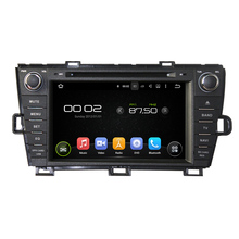 Navirider 2GB ram Android 7.1.2 HD CAR DVD player for TOYOTA PRIUS RIGHT audio gps car radio head unit Multimedia 3G wifi