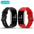 Lemse S2 Inteligente Smartwatch Pulsera Pulsómetro Notificación Deporte Cámara anti-perdida Rastreador Remoto Inteligente pulsera banda