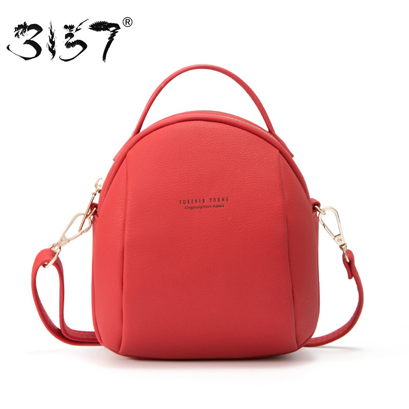 3157 Mini Women Backpacks Casual Shoulder Bags For Girls Backpacks Solid Female Leather Backpack Women Female Crossbody Bags women sequins backpack female fashion bling bling children backpacks mini bags ladies casual shoulder bags for teenager girls