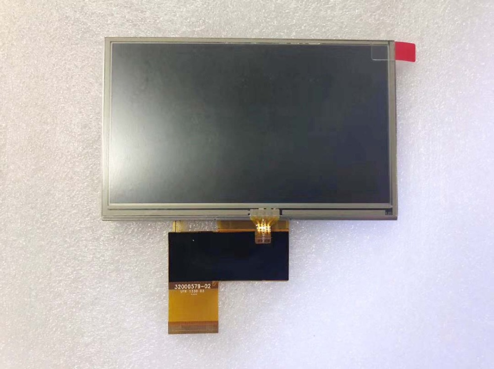 Original 5inch LCD screen with Touch screen AT050TN33 for Navi N50i BT Car Navigators GPS free shipping