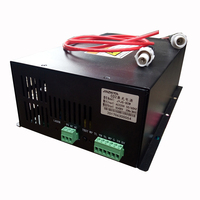 JIN ZHI YIN 220V/110V 50W Tube CO2 Laser Power Supply used for Engraver/ Engraving Cutting Laser Machine 3020 3040