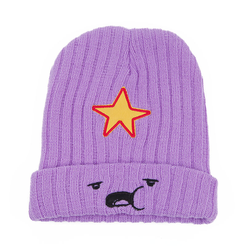 NEW Winter Hats For Women And Men Modno Star Fashion Lovely Cute Hat model Lumpy Space Princess hat Female Skullies Beanies Hat