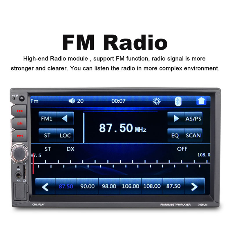 Vehemo для автомобиля Mp5 плеер задняя камера MP5 плеер Авто MP5 плеер MP5 радио гибкий FM Радио стерео автомобильные аксессуары