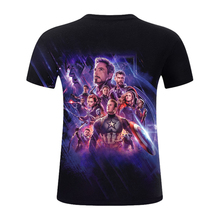 2019 Marvel Clothing Avengers Endgame 3d T shirt Unisex Short Sleeve Tops
