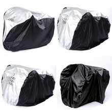 Waterproof Bicycle Cycle Bike Cover Outdoor Multipurpose Rain Snow Dust All Weather Dust bask Protector PU Coating