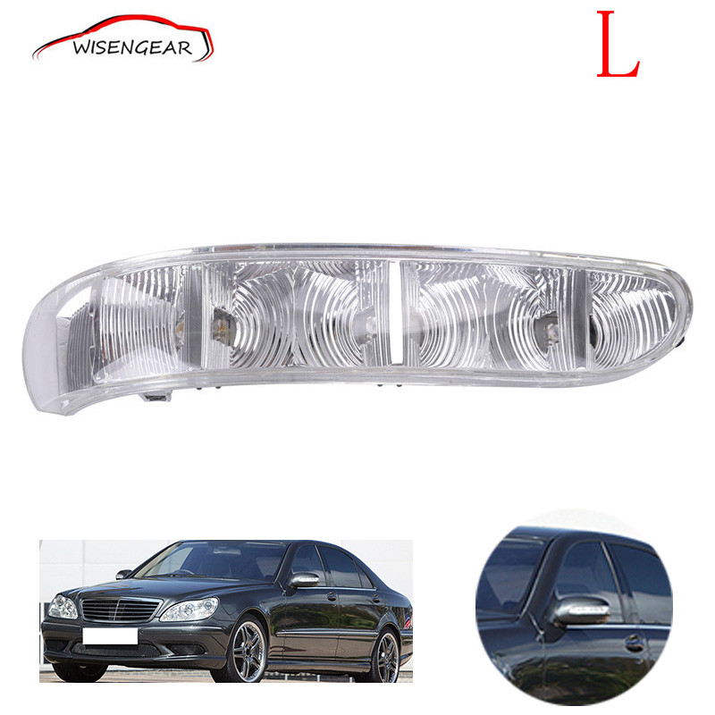 Car Left Door Side Rearview Mirror Turn Signal Light For Mercedes-Benz W220 W215 2208200521 C/5 door mirror turn signal light for mercedes benz w163 ml270 ml230 ml320 ml400 ml350 ml500 ml430 ml55