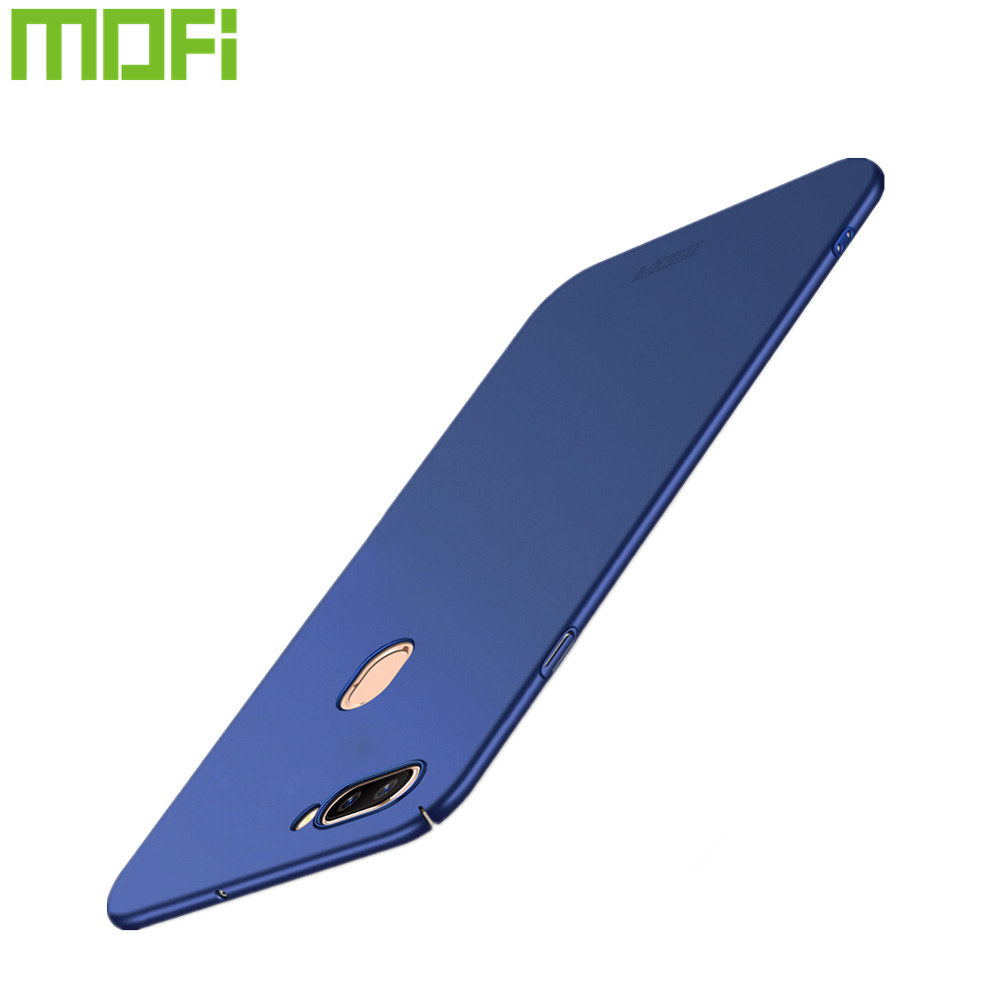 Case For OPPO R11S Plus MOFi brand luxury 360 Full body cases Hard Frosted PC back cover for oppo r11s plus 6.43 inch