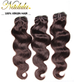 6A Nadula Hair #2/#4 #33/#99J Brazilian Virgin Hair 3 Bundles Lot Brazilian Hair Weave Bundles,Brazilian Body Wave Human Hair