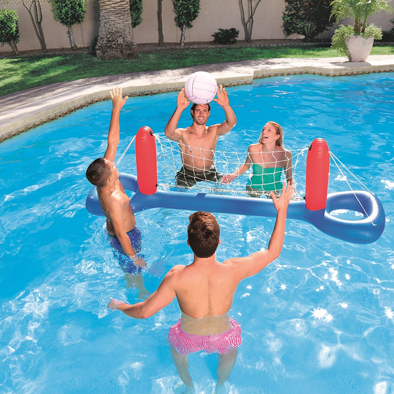 Inflatable Pool Volleyball Set Swimming Ring Summer Water Game Center For  Adult Children Famlily