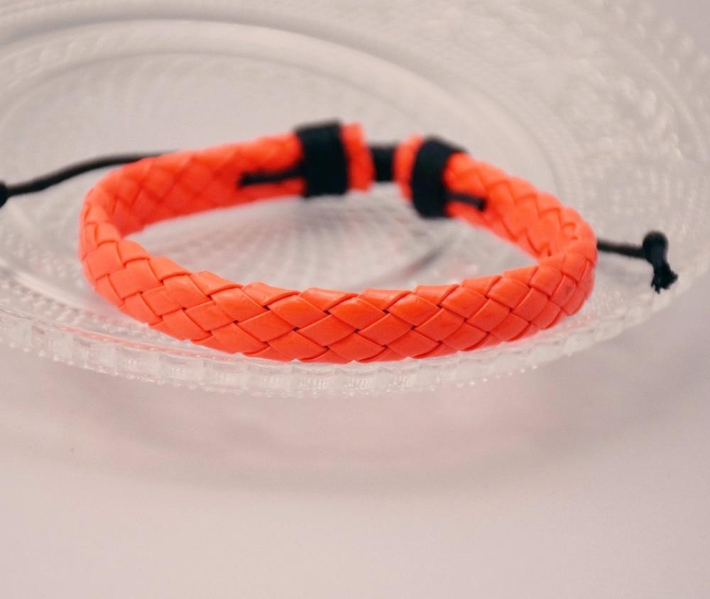 2 шт./лот регулируемые унисекс манжеты Orange кос браслеты новый продукт для обувь для мужчин и женщин jewelry подарки Бесплатная доставка