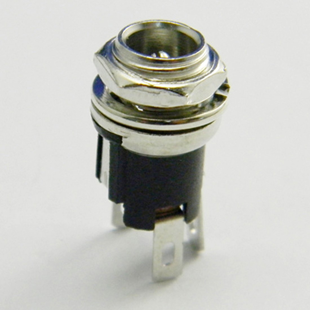 ALLiSHOP Female DC Connector 5.5mm X 2.1mm Panel Mount Female DC Power Supply Adapter Metal Jack Sockets Connector dc connector female connector