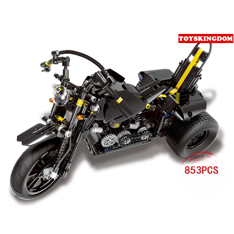 Classic technics dream cars Heavy duty motobike moc building block Harley model bricks toys collection for adult kids gifts hot technician technics extreme adventure 2in1 building block model tracked vehicle bricks 42069 toys collection for kids gifts
