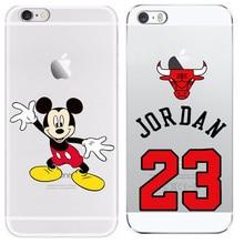 23 Jordan For Apple iphone 4 4S 5 5S SE 5C 6 6 Plus 7 7 Plus Cases Soft Cover TPU Phone Bags Cases For Iphone4 5 6 7 Plus