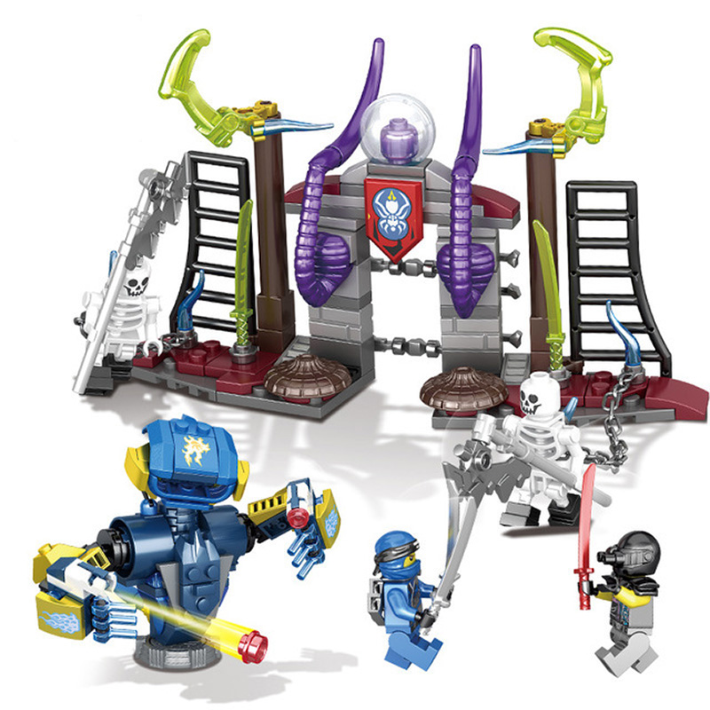 Toys For Children Educational Diy Assembled Model Kit Boy Building Blocks Brick Chariot Compatible Legoing Kids Birthday GiftI46 in Model Building Kits from Toys Hobbies