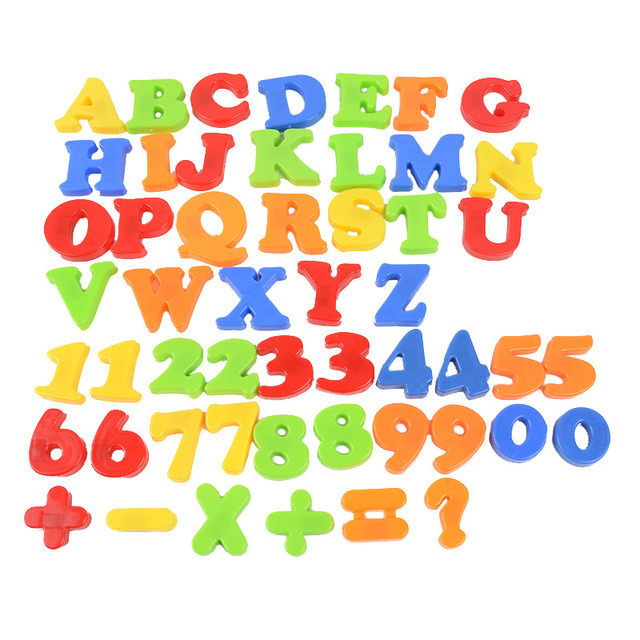 English Letters and Numbers Magnetic Stickers