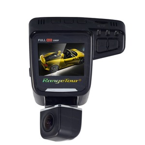 "Image 3 - Range Tour C10s Plus Mini Car DVR 360 Degree Rotated Dash Cam Dual lens  Front 1080P Rear 480P Video Recroder 2"" Screen Display"