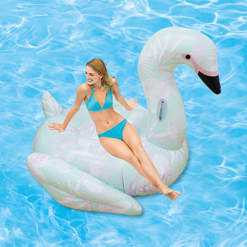 Flamingo inflável Gigante Piscina Float 60 Polegada