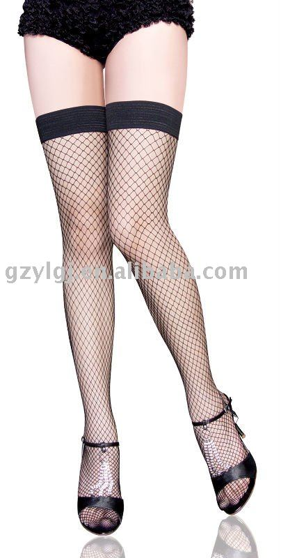 6pcs Lot sexy lingerie thigh high fishnet stocking black font b Socks b font font b