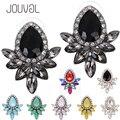2017 Fashion Crystal Stud Earrings For Girls Women Earring Geometric Rhinestone Ear Studs Earing Brincos Earings Jewelry