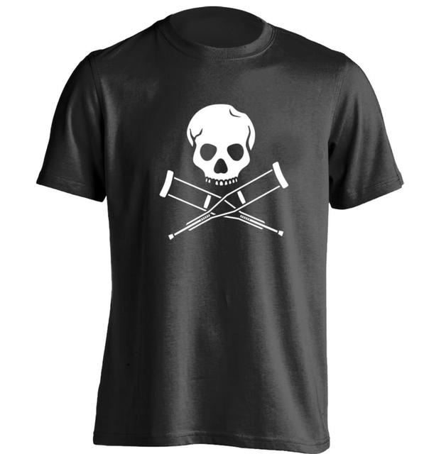 MTV Show Jackass Skull Mens Personalized T Shirt Printing Cool Tee