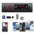 2016 NEW In Dash Car Audio Bluetooth Stereo Head Unit MP3/USB/SD/AUX/FM Input AUX 1258BT