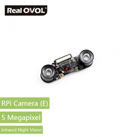 RealQvol Raspberry Pi Camera Module 5 Megapixel OV5647 Sensor Supports Night Vision Supports All Revisions Of