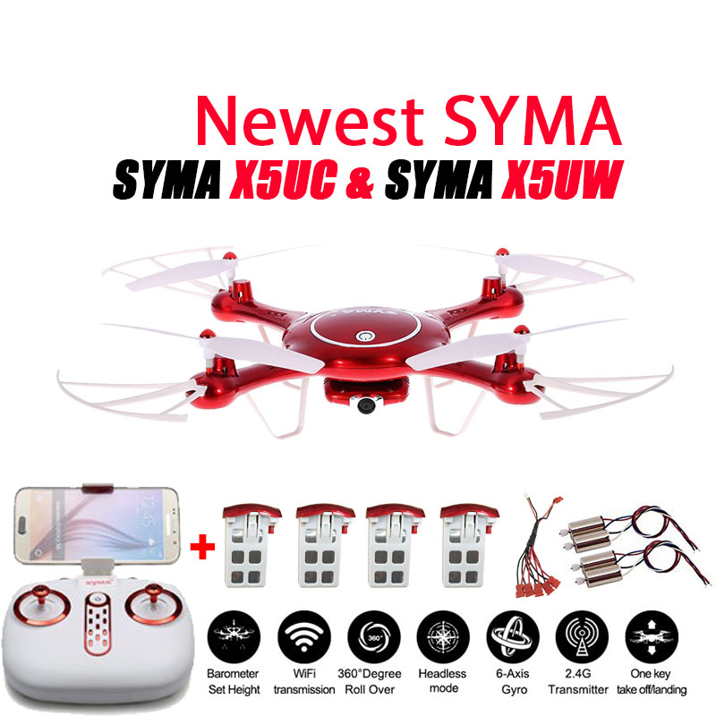 Newest SYMA XUW  XUC Drone P WIFI FPV With MP HD