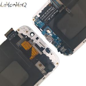 Image 5 - Для samsung Galaxy S6 G920F G920I ЖК дисплей с сенсорным экраном дигитайзер в сборе для samsung S6 G920FD G920FQ lcd с рамкой