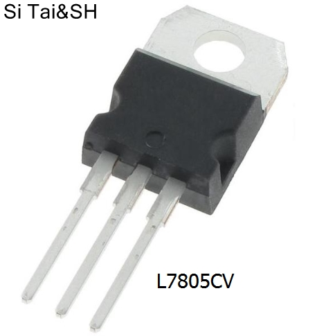 10pcs/lot 1.5A / 5V Three Terminal Regulator L7805CV L7805 LM7805CT LM7805 KA7805 TO220   Original