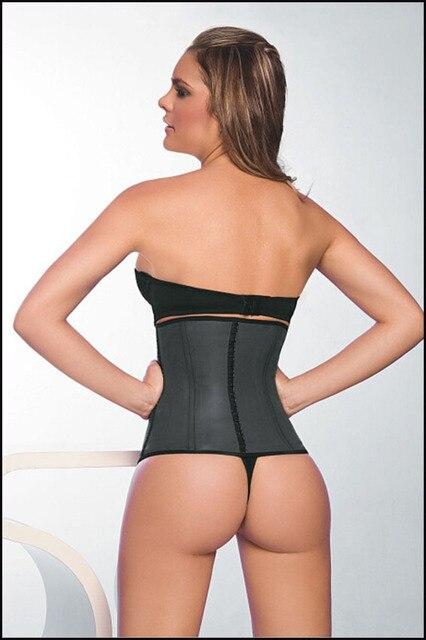 ea9ba22d5d8 Ann Chery 2025 Waist Corset Cincher Latex Girdle Black Size S-2XL~latex  corset~body shaper wholesale