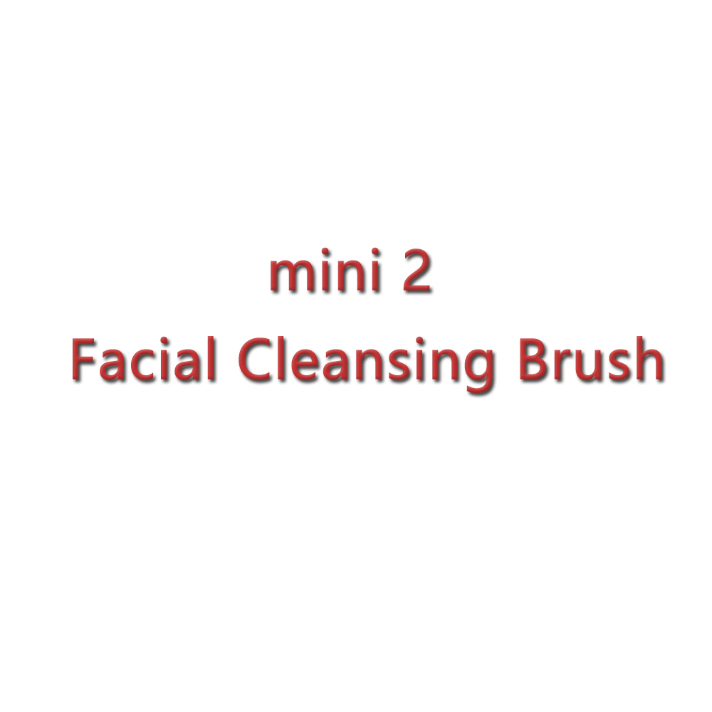 mini2 T sonic Silicone Cleansing Device Blackhead Acne Removal Rechargeable Electric Facial Cleaner Beauty Instrument Hot