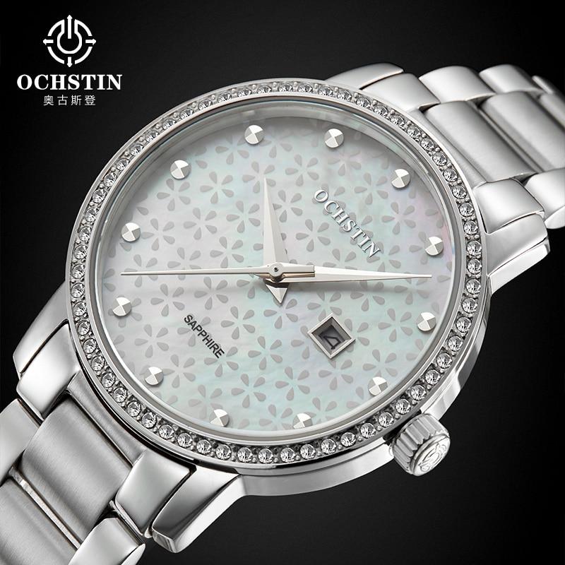 Ochstin Мода 2016 года Роскошные Леди Наручные часы платье часы Для женщин браслет Повседневные часы Для женщин Montre Femme Relogio feminino