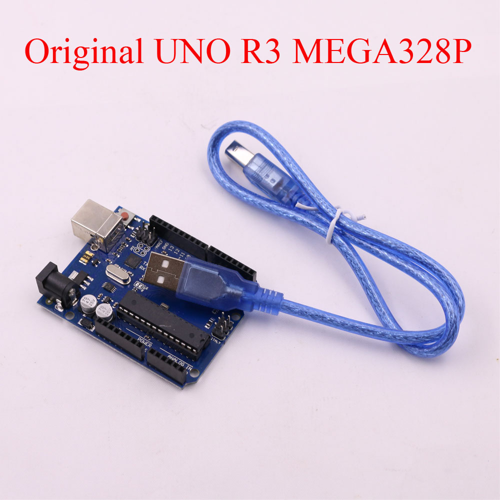 10 set UNO R3 for arduino MEGA328P 100% original ATMEGA16U2 with USB Cable