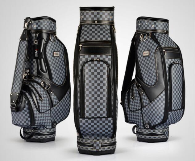 2017 nouveau sac de Golf PGM de haute qualité sac de clubs de Golf en PU au choix 10 pouces paquet de balle Standard sac de chariot de Golf HONMA