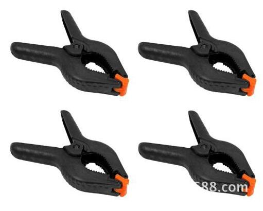 free  shipping  Tools 10PCS 4 Inch Black Plastic Nylon Spring Clamps Set for Paper Photo Backdrop Background Woodworking цена 2017