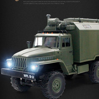 WPL B 36 B36 6WD Rc Ural army Car Military remote control rc Truck Rock Crawler Command Vehicle RTR VS WPL C24