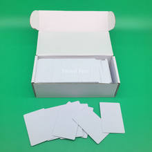 230PCS/Box Inkjet Two Sides Printing Blank PVC ID Card Without Chip For Epson Canon Printer 85.6*54*0.76mm(China)