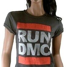 c7600397382 AMPLIFIED RUN DMC Logo Hip Hop Rap 80 er HipHop Star s Retro Vintage T-Shirt  g.M