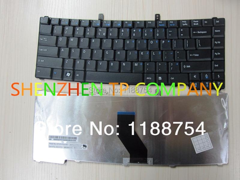Brand New laptop keyboard  For Acer Extensa 4220 4230 4420 4630 5220 5620 TM4520 TM5710 4520 Service US version BLACK
