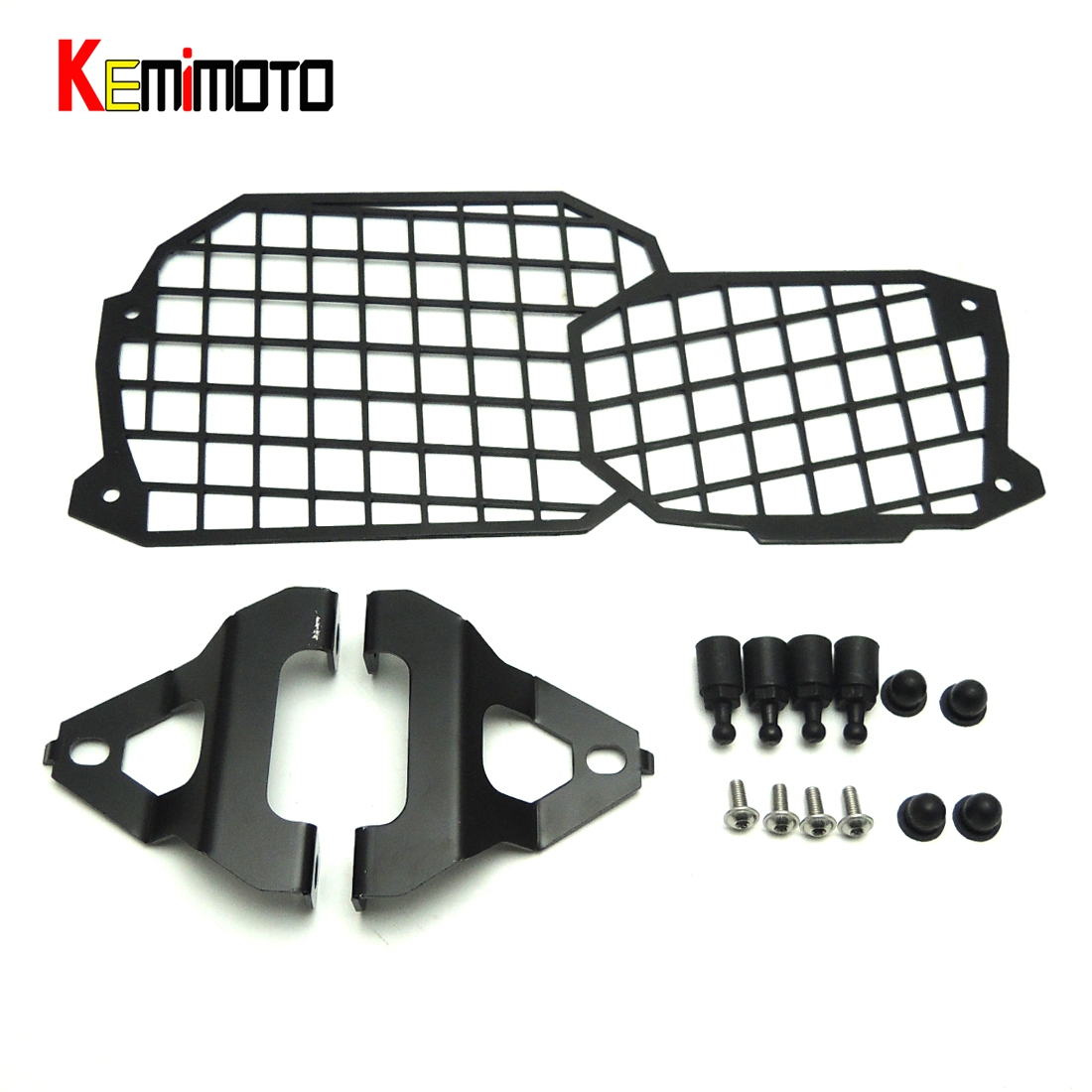 ФОТО For BMW F700GS Quick Release Stainless Steel Headlight Guard Cover Protector for BMW F800GS ADV F700GS F650GS 2008 2009 Up