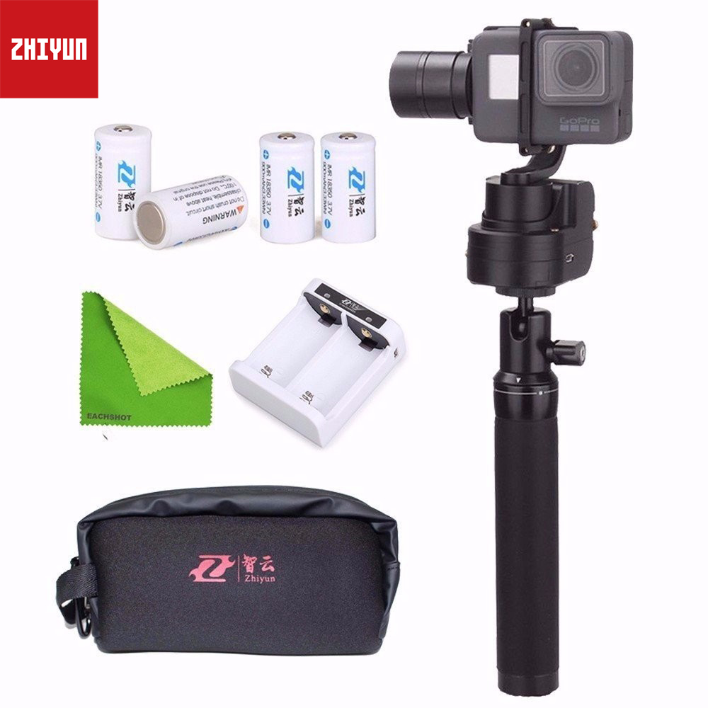 Zhiyun Z1-Rider M&Selfstick&Case Bag WG Wearable 3 Axis Camera Gimbal Stablizer for Gopro Hero 3,4 Support APP Remote Control elastic wrist belt silicone protective case for gopro hero3 3 wi fi remote control blue