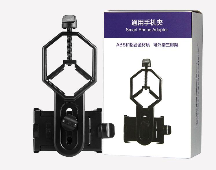 Universal Cell Phone Adapter Mount - Binocular Monocular Spotting Scope Telescope and Microscope Accessories