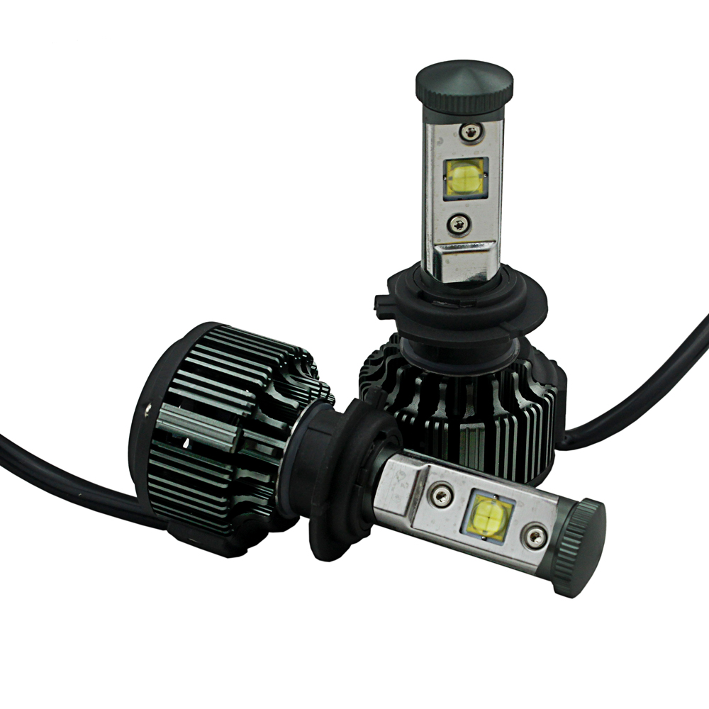 H7 C ree Chips v16 led car headlight light 30W 3600LM with turbo fan automobile