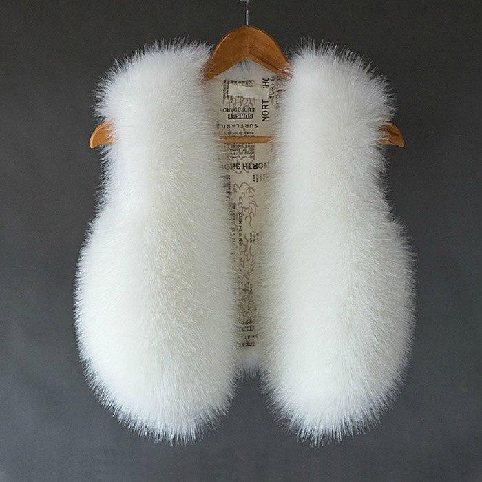 2017 manteau de fourrure de lapin haut à la mode offre spéciale manteau fourrure gilet automne et hiver femmes coréenne Imitation renard Anti-saison veste