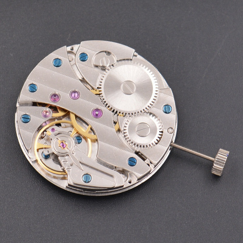 Watch Parts, Seagull 17 Jewels 6497 Swan Neck Mechanical Hand Winding Movt , Watch Movement MT06Watch Parts, Seagull 17 Jewels 6497 Swan Neck Mechanical Hand Winding Movt , Watch Movement MT06