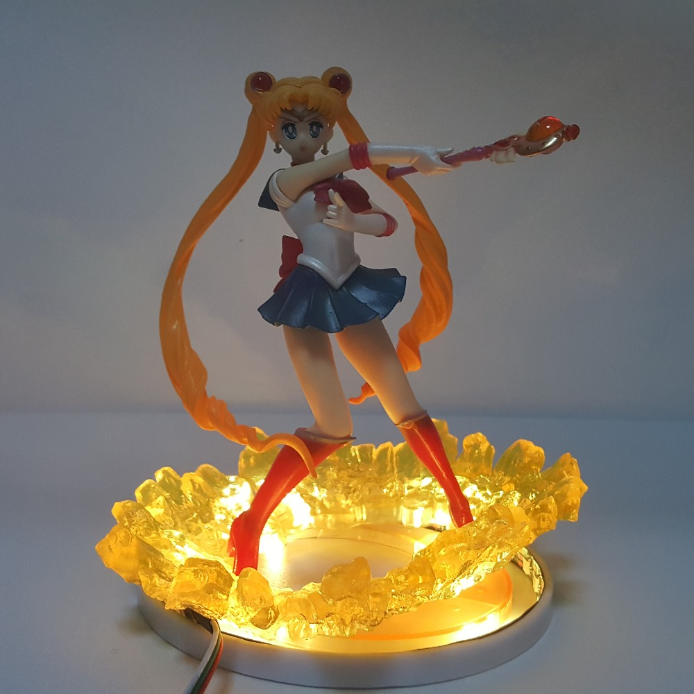 Sailor Moon Usagi Tsukino Luci notturne lampada Da Tavolo A Led Sailor Moon Lampara Usb FLASH Di telecomando Di illuminazione A LedSailor Moon Usagi Tsukino Luci notturne lampada Da Tavolo A Led Sailor Moon Lampara Usb FLASH Di telecomando Di illuminazione A Led