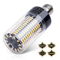 E27 bombilla LED E14 lámpara de maíz 110V lámpara LED 220V lámpara LED 85-265V 28 40 72 108 132 156 189 LED Bombilla de ahorro de energía 5736 SMD