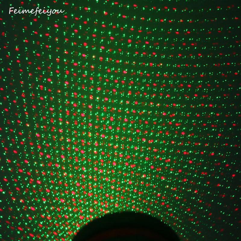 Feimefeiyou Indoor Decoration Lawn Lamp Sky Star Laser Spotlight Light Shower Lawn Landscape Park Lights Christmas Decoration