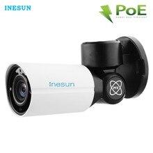 Inesun Outdoor PoE PTZ IP Security Camera 5MP Super HD 2592×1944 4X Optical Zoom Autofocus Lens 120ft IR Night Vison Waterproof